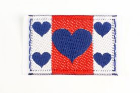 Hearts Sew-on Applique Patch